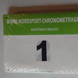 Dossard Nordsport Vert